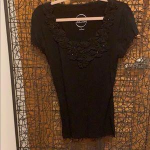 INC black blouse